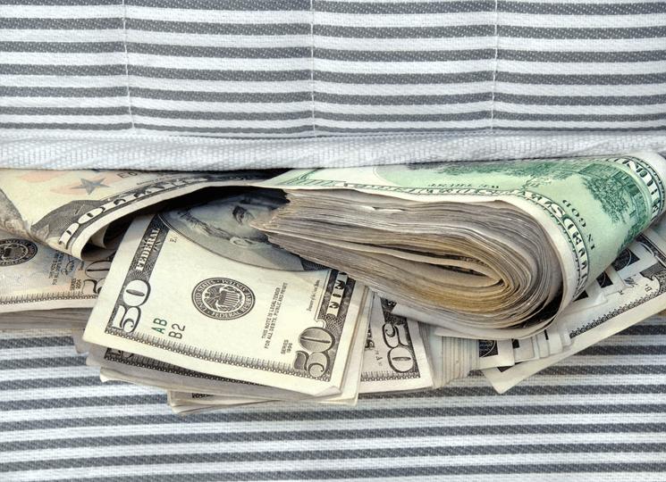 Schované peníze